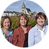 Aurélie BOUGUEREAU, Marie-Agnès CROSNIER et Cindy JANVIER
