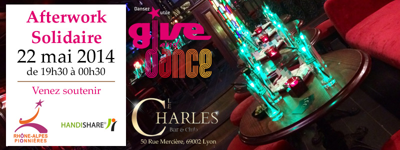 Afterwork Give and Dance du 22 mai 2014