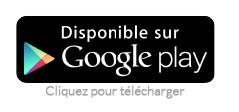 Disponible sur Google play (cliquez pour télécharger)