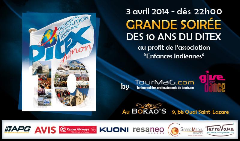 3 avril - Grande soirée des 10 ans du Ditex