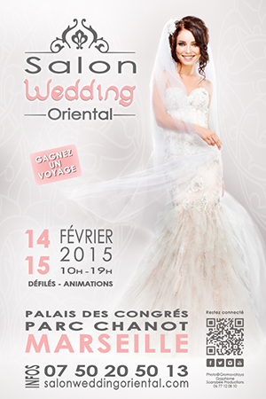Salon du wedding oriental agenda 1er for Salon 2018 france