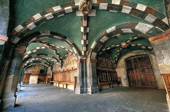 Le château d'Issogne reçoit 25 000 personnes par an - DR