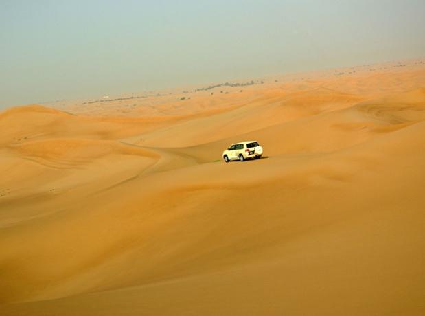L'excursion dans les dunes est l'attraction favorite des touristes dans le désert - DR : J.-F.R.