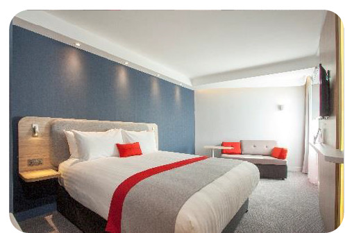 "Le Holiday inn Express St. Albans – M25 Jct propose des chambres dites ""Next Generation"" - Photo : InterContinental Hotels Group"