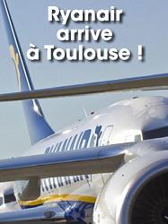 Ryanair inaugure sa ligne Toulouse-Berlin le 7 septembre 2016