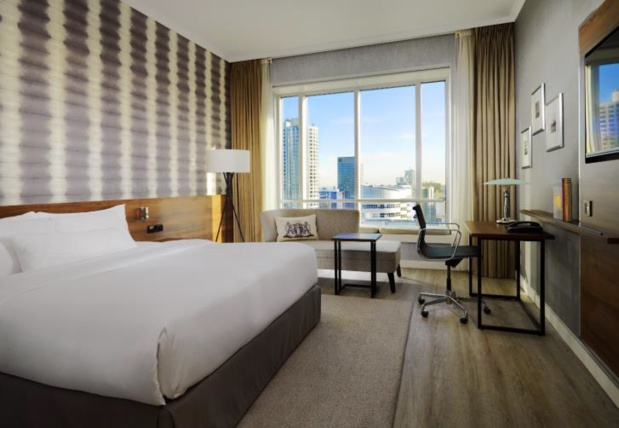 Le Rotterdam Marriott Hotel comprend 230 chambres et suites - DR : Marriott Hotels