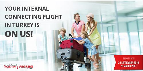 """Pegasus Airlines prolonge son opération """"Votre vol offert en Turquie"""""""