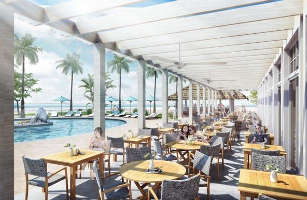 Le Warwick Paradise Island est le nouvel hôtel du groupe aux Bahamas qui ouvrira ses portes en octobre 2016 - DR : Warwick Hotels and Resorts