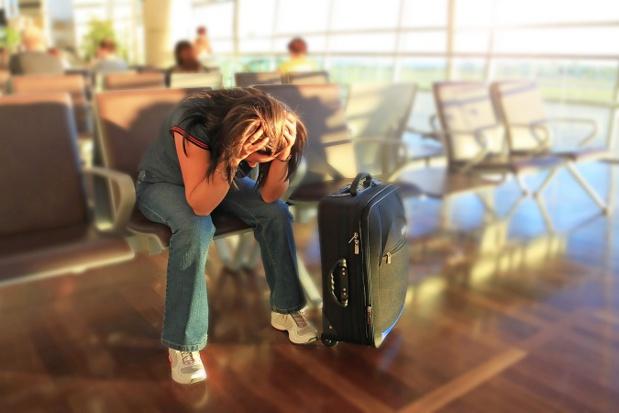 A Toulouse, les passagers de Jetairfly ont dû patienter 36 heures avant de partir vers Malaga - Photo : Patryk Kosmider-Fotolia.com