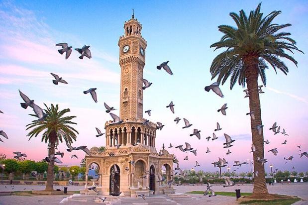 Région de l'Egée, Izmir, Tour de l'horloge