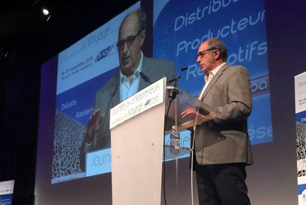 Jean-Pierre Mas, le président des Entreprises du Voyage. DR JDL