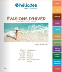 La nouvelle brochure hiver d'Héliades - DR : Héliades