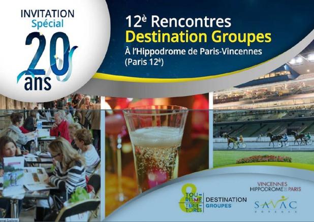 Destination Groupes fête ses 20 ans le 11 octobre 2016