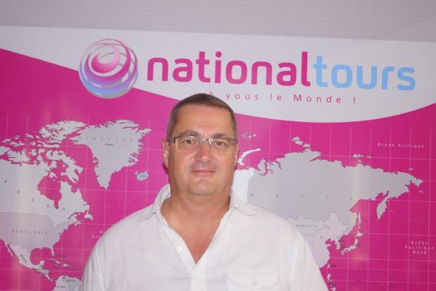 Thierry Houalard directeur général de Nationaltours. Photo TO.