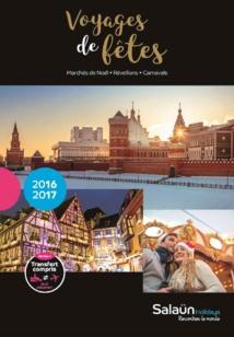 Salaün Holidays édite la brochure spéciale Voyages de fêtes 2016/2017
