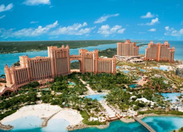 Jusqu'au 20 décembre 2016, à Nassau, l'Atlantis Beach Tower and Royal Towers proposera une nouvelle offre packagée « all inclusive » - DR : OT des Bahamas