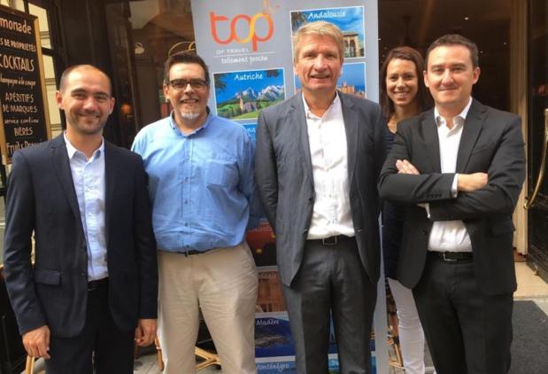 L'équipe de Top Of Travel. Photo : Top Of Travel