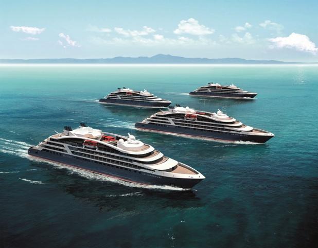 Les nouveaux yachts de Ponant se nommeront « le Lapérouse », « Le Champlain », « Le Bougainville », « Le Kerguelen » (c) PONANT - STERLING DESIGN INTERNATIONAL