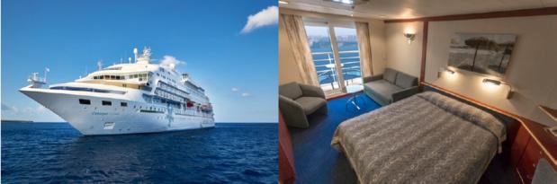 Celeystal Cruises proposera des croisières hebdomadaires tout compris de 8 jours / 7 nuits à bord à bord du Celestyal Crystal - DR