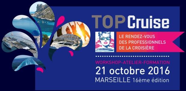 Top Cruise se tiendra à Marseille le 21 octobre 2016 - DR