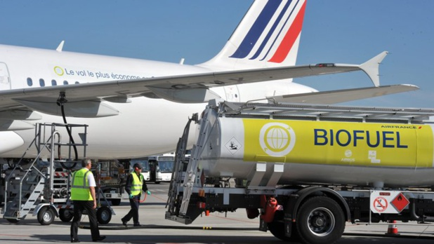 Les avions tournent au biocarburant - DR Air France