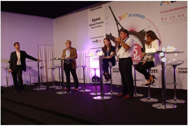 Retrouvez les conférences technologique i-tourisme le mercredi 21 septembre en salle Agora (c) Vincenza Picone