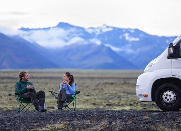 La start-up bordelaise propose d'emprunter pour un jour ou plus la caravane, le van ou le camping-car d'un autre particulier (c) Yescapa