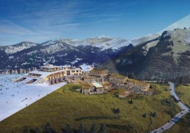Samoëns Grand Massif accueillera les GM dès l'hiver 2017-2018, avec un environnement et des services pensés pour les familles - DR : Club Med