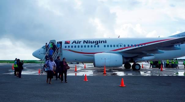 Air Niugini opère sur l'aéroport de Port Moresby en Papouasie-Nouvelle-Guinée - Photo : Air Niugini
