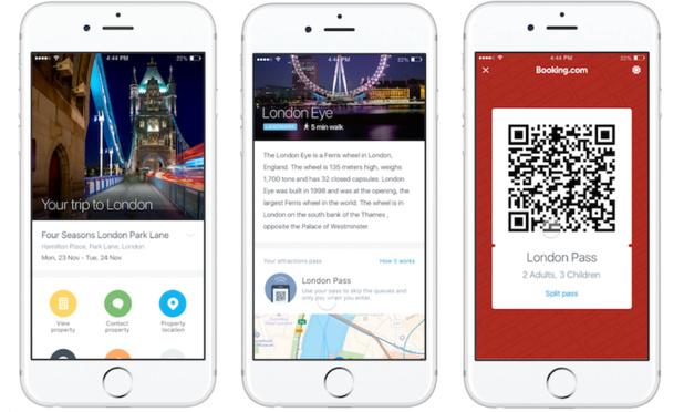 La compagnie a développé une technologie d'intelligence artificielle alliée à l'apprentissage automatique afin de prédire les intentions individuelles des voyageurs (c) Booking.com
