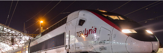 Photo : TGV Lyria