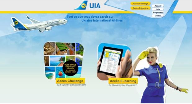 Le challenge de ventes d'Ukraine International Airlines se déroule jusqu'au 4 décembre 2016 - DR : Ukraine International Airlines