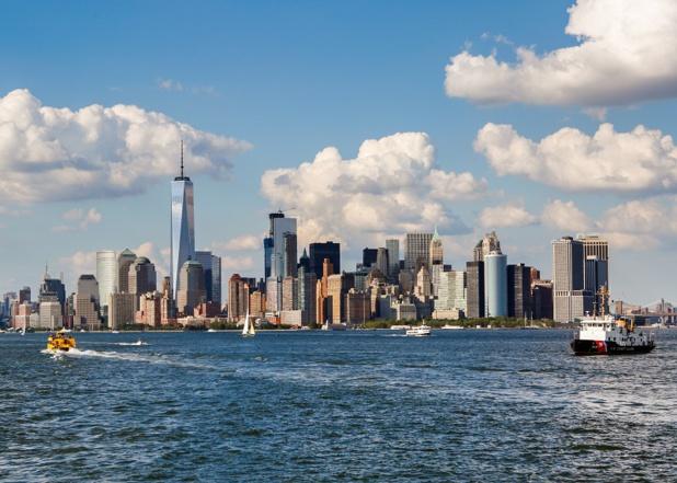 New York avait choisi de mettre en avant le quartier de Lower Manhattan, qui monte en puissance, 15 ans après les attentats du 11 septembre 2001 - DR : NYCGO