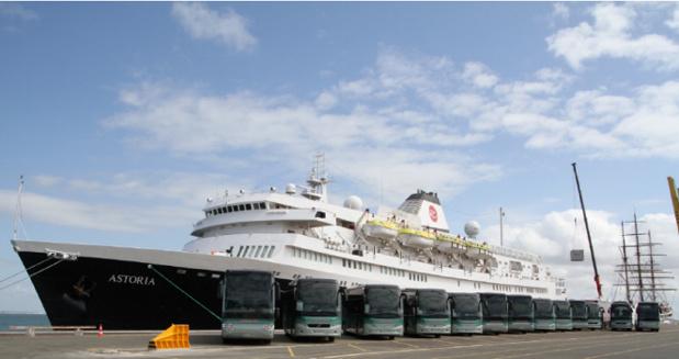 Michel Voyages a affrété l'Astoria fin août et début septembre 2016 - Photo DR