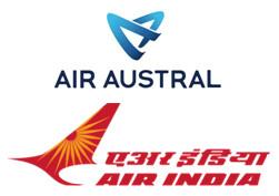 Air Austral et Air India signent un accord de partage de codes réciproque