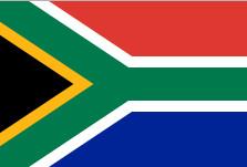 Drapeau de l'Afrique du Sud - DR : Wikipedia