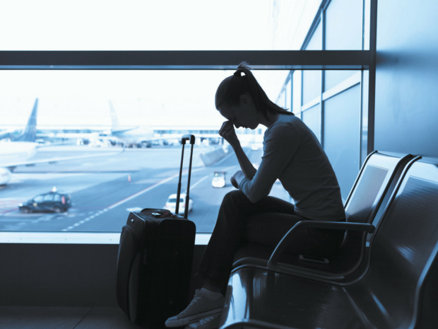 """Un tiers des voyageurs regardent le voyage d'affaires comme une source de stress """"élevée"""" ou """"très élevée"""", révèle une étude Opinion Way © Kieferpix"""