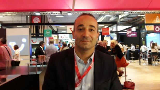 Bruno Berrebi directeur général de Times Tours et Premium Travel au Village des TO de IFTM/Top Resa. Photo MS.