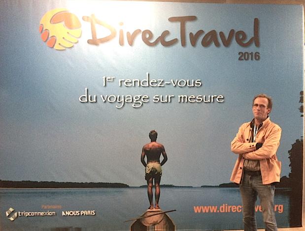 Christophe Sentuc, le fondateur de Direct Travel. DR LAC