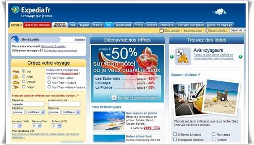 ''Les achats de dernière minute sur Expedia.fr ont progressé de 20 % de juin à septembre 2008 par rapport à la même période l'an dernier. ..''