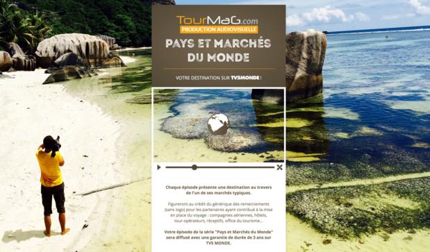 """France 2 diffusera aussi """"Pays et Marchés du Monde"""" à partir du 11 octobre 2016"""