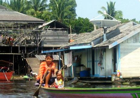 La croisière de Garuda Indonesia Holiday France se déroule sur le fleuve Mahakam, à Bornéo - Photo : Garuda Indonesia Holiday France