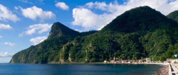 L'économie fonctionne normalement sur l'île de la Dominique malgré le passage de la tempête tropicale Matthew - Photo : DR