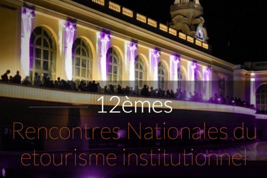 Les 12èmes Rencontres nationales du e-tourisme institutionnel auront lieu les mercredi 19 et jeudi 20 octobre au Palais Beaumont à Pau