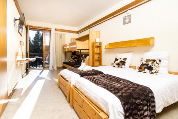 Chambre au village des Balcons du Mont-Blanc