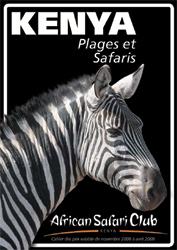 African Safari Club : nouvelle brochure hiver 2008/2009