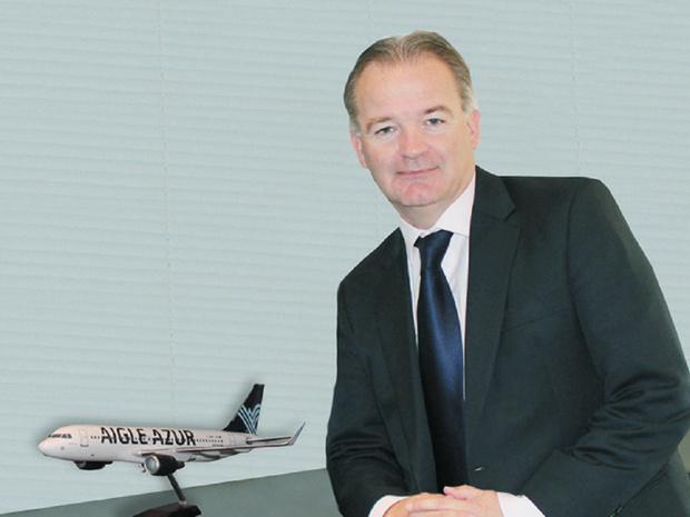 Michael Hamelink, PDG d'Aigle Azur © DR
