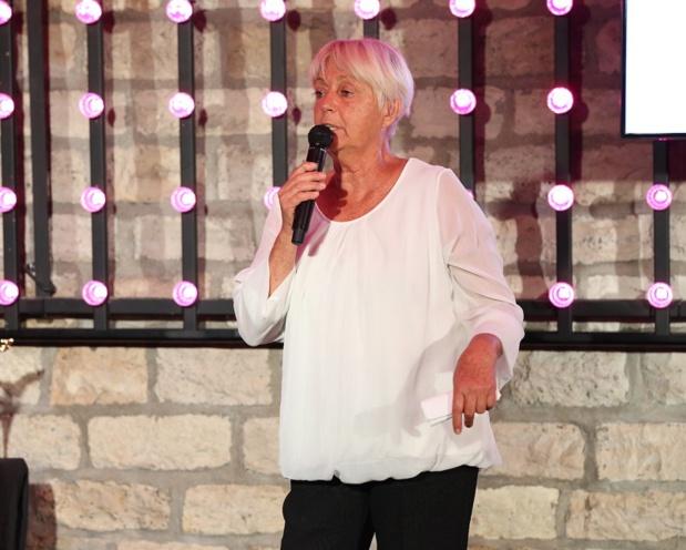 Odette Ribero président de l'Association Saint Jérôme Partage et Développement lors de la Plus Grosse Soirée du Tourisme au Faust à Paris- DR