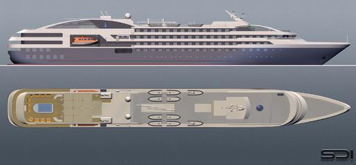 Compagnie des Iles du Ponant : le Boréal et l'Austral entreront dans la flotte en 2010