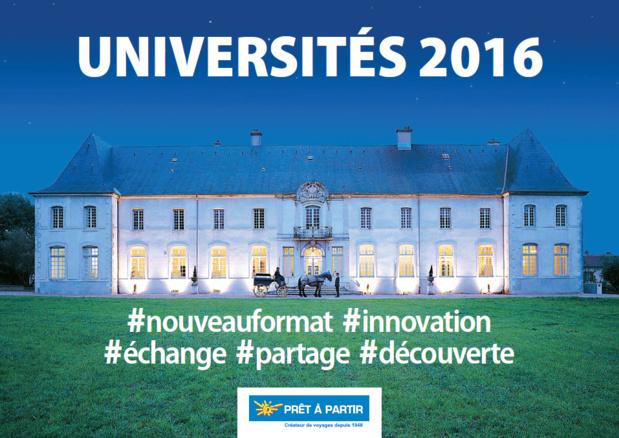 Coup d'envoi des 5e Universités Prêt à Partir lundi